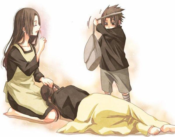 Mikoto, Itachi & Sasuke