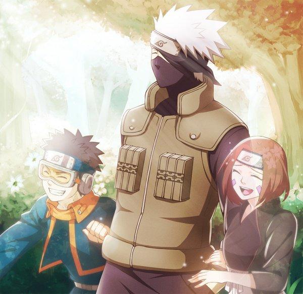 Obito, Kakashi & Rin