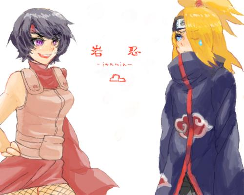 Kurotsuchi & Deidara