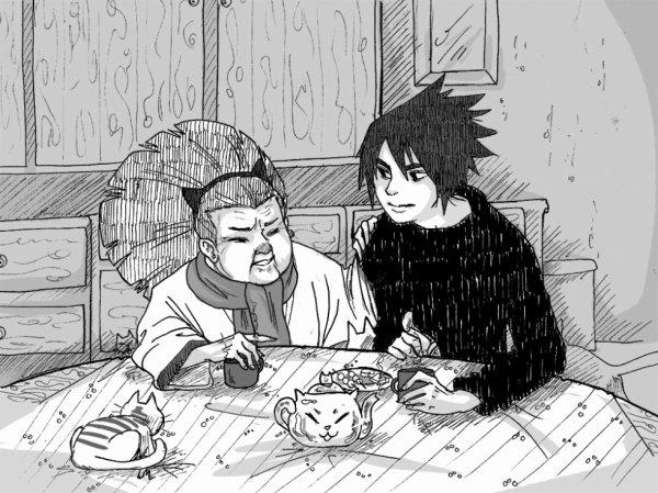 Nekobaa & Sasuke
