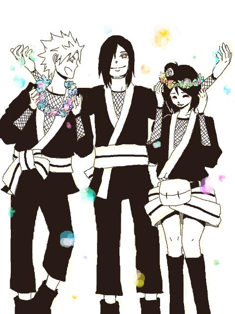 Yahiko, Nagato & Konan