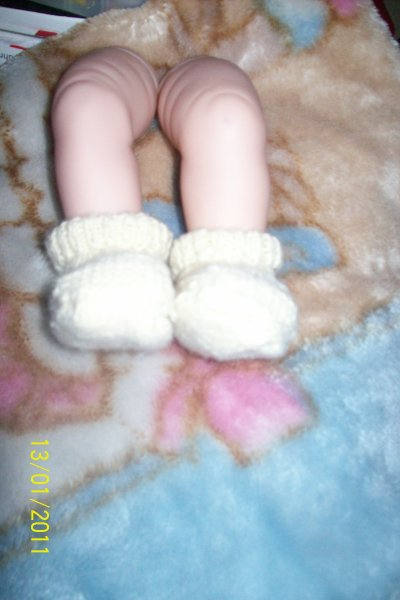 Chaussons baby reborn