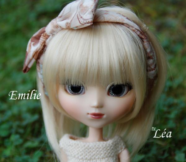 Ma deuxième Pullip : Emilie.