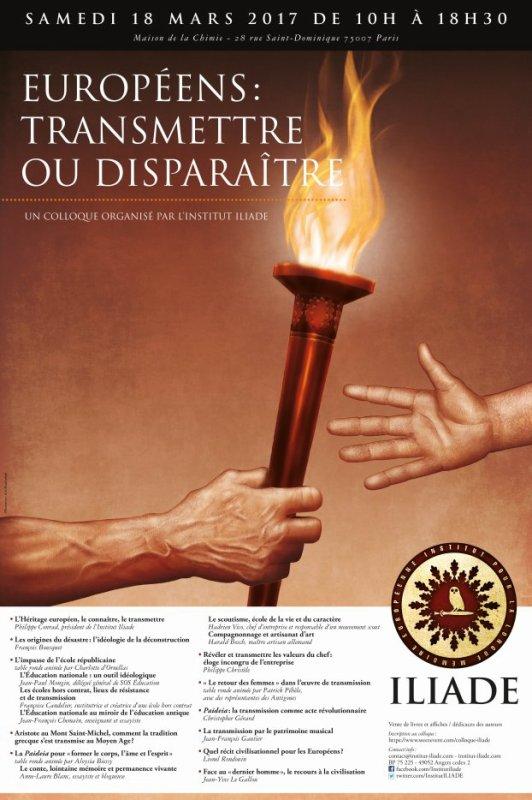 """Samedi 18 mars, Paris: Sur le stand SOLARIA, J. C. Mathelin dédicacera son anthologie """"Le Soleil & la Lumière"""" dans le cadre du Colloque de l'Institut Iliade."""