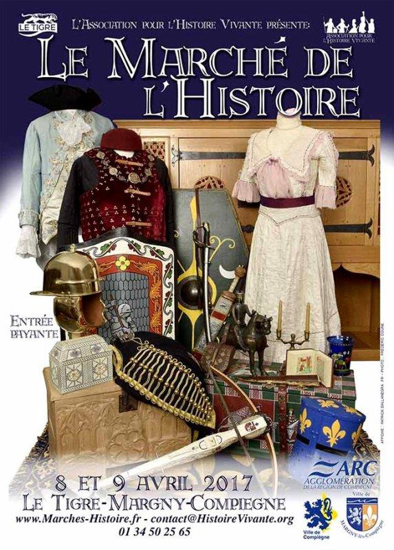 Samedi 8 & soldi 9 avril: MARCHÉ MÉDIÉVAL de Margny les Compiègne (60)