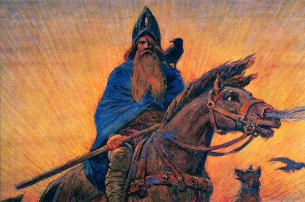 30 avril: Nuit de WALPURGIS (Asatru) où les esprits des morts, conduits par le dieu ODIN, mènent la chasse sauvage.