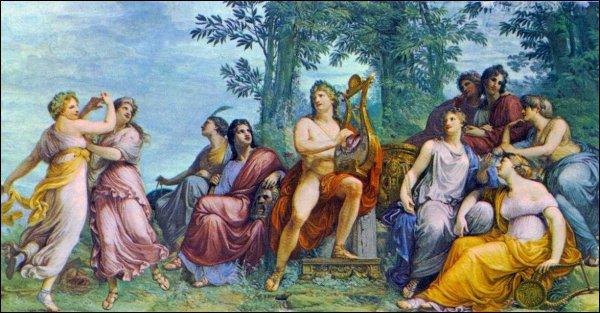 6-7 mai: Fête apollinienne des THARGÉLIES en Grèce: procession avec rameaux d'oliviers, concours musicaux, offrande au dieu de bouillie de céréales.