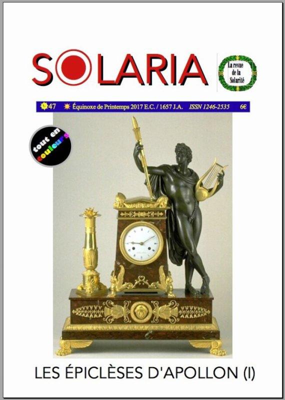 Sommaire de Solaria n°47