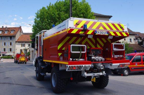 Véhicules de lutte contre les incendies