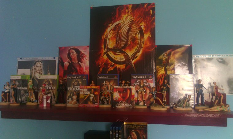 Ma collection Tomb Raider