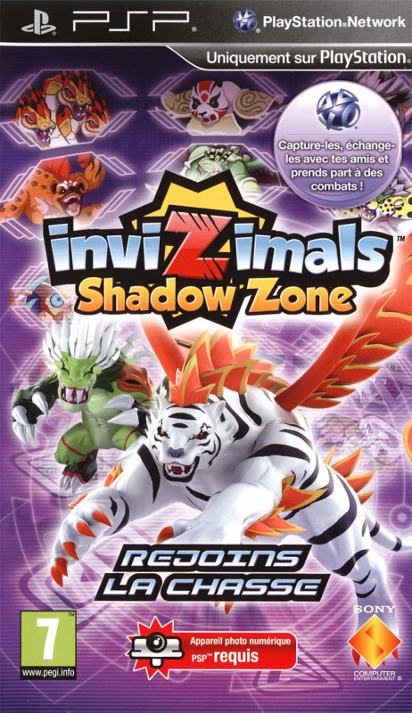 Invizimals:Shadow Zone (PSP)
