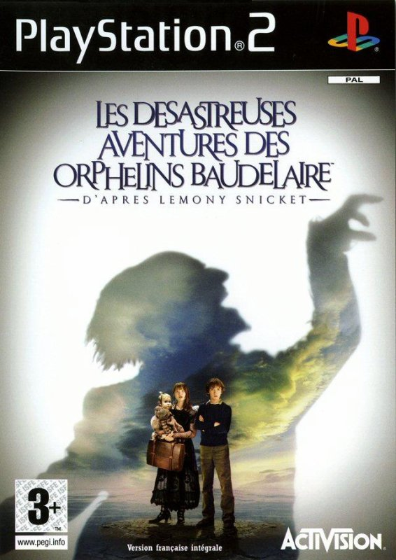 Test:Lemony Snicket,(les orphelines Baudelaires)PS2