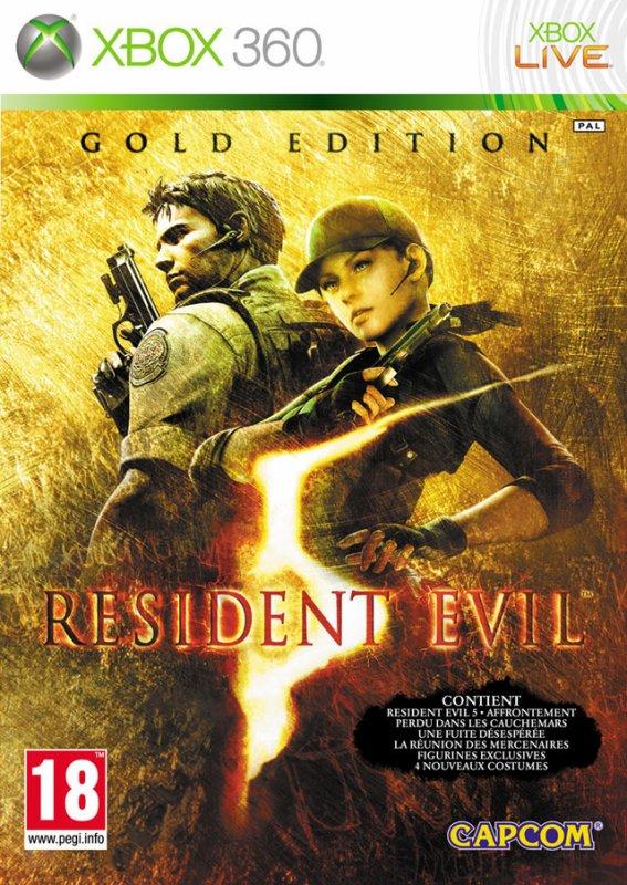 Test de Rèsident Evil 5 (le jeux complet) sur xbox 360
