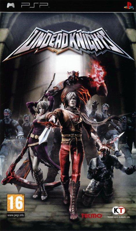 Test (démo) Undead Knights PSP