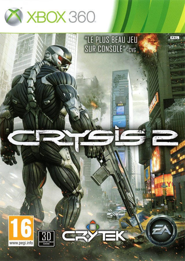 Test de Crysis 2 sur Xbox 360