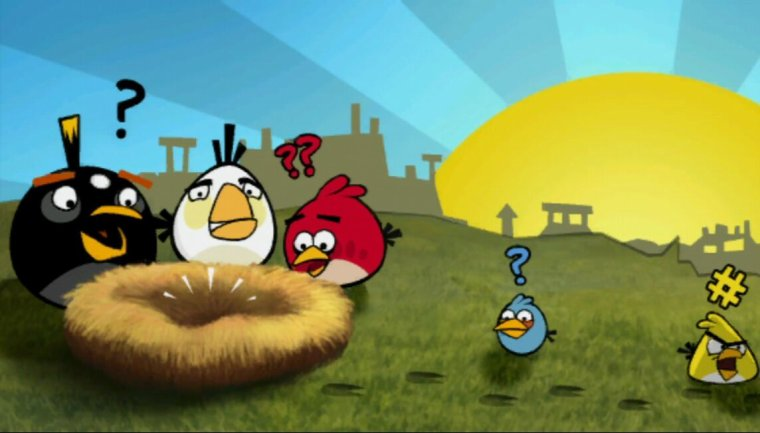Test:Angry Birds (PSP)