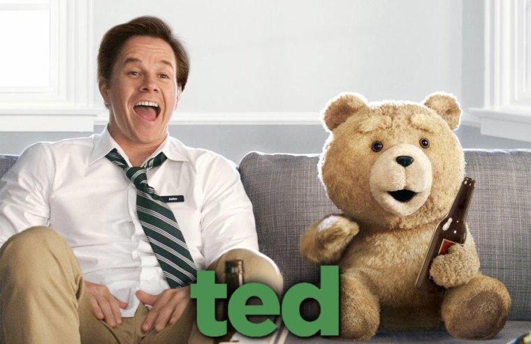 Vue sur le Film:Ted