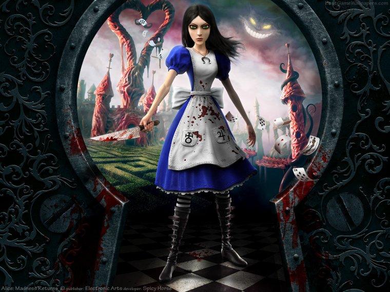 Le prochain test sur mon blog:Alice:retour au pays de la folie