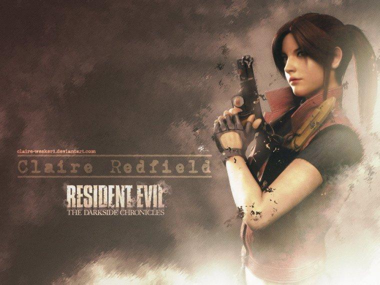 Resident Evil:Claire Redfield en image
