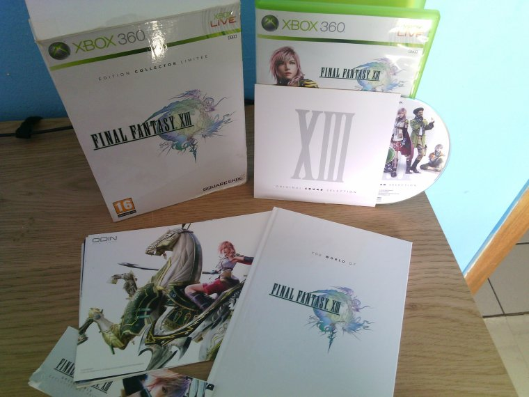 Unboxing / Final Fantasy XIII: Edition collector Limitée