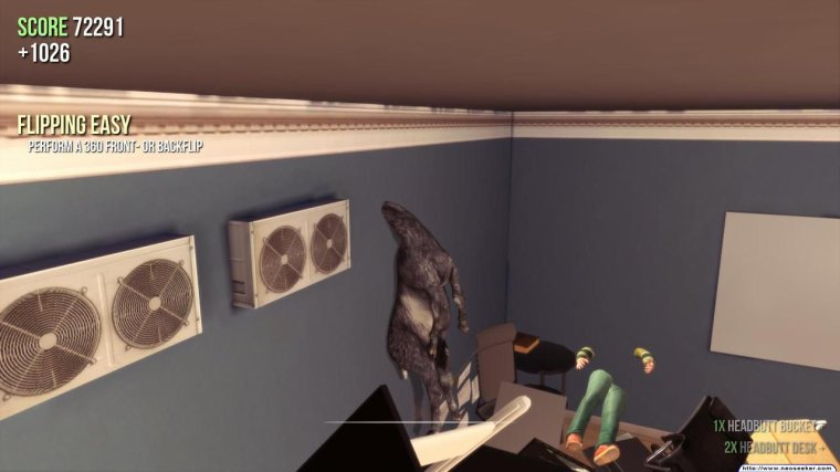 Goat Simulator béeeeeee