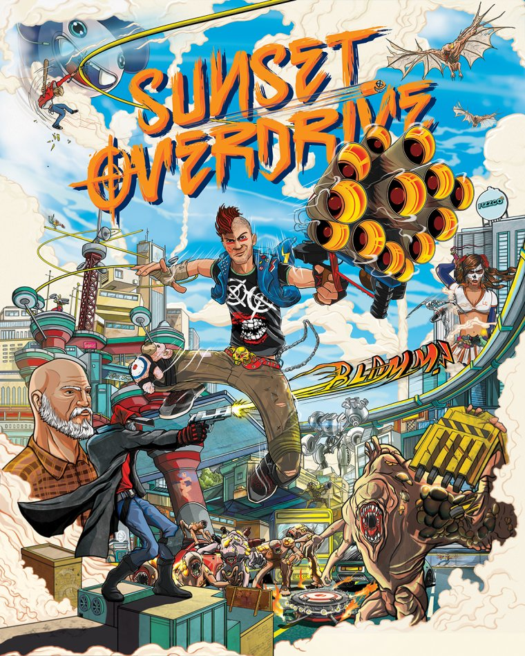 Sunset Overdrive E3