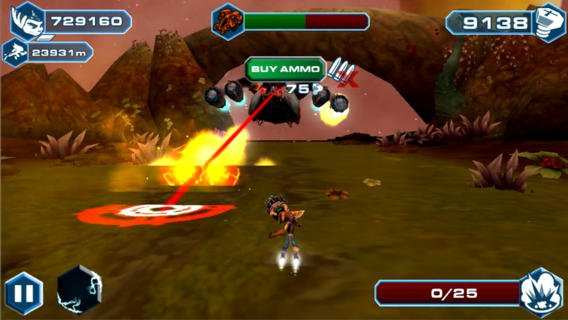 {Gaming Test} Ratchet & Clank: Before the Nexus/ Android