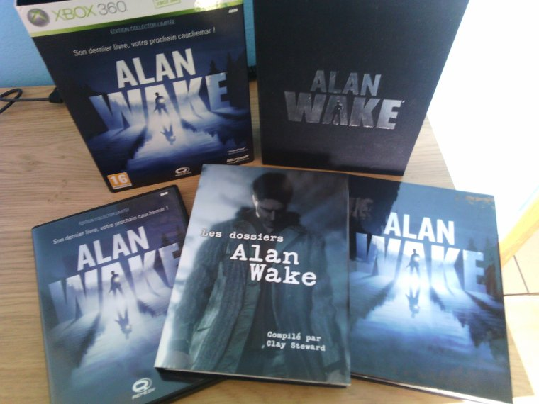 Unboxing / Alan Wake: Edition collector limitée