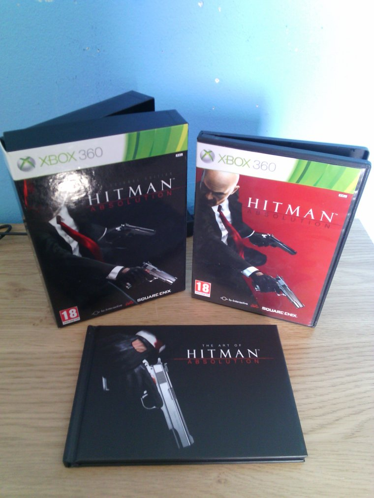 Unboxing / Hitman Absolution: Professional Edition