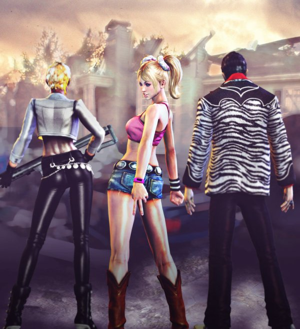 {Fan-Art} Juliet Starling /lollipop Chainsaw