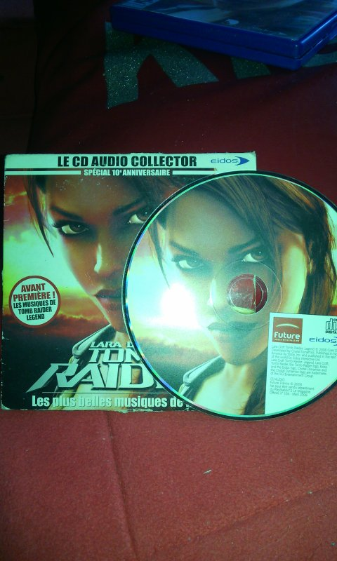 {review} Tomb Raider Legend+ CD Collector