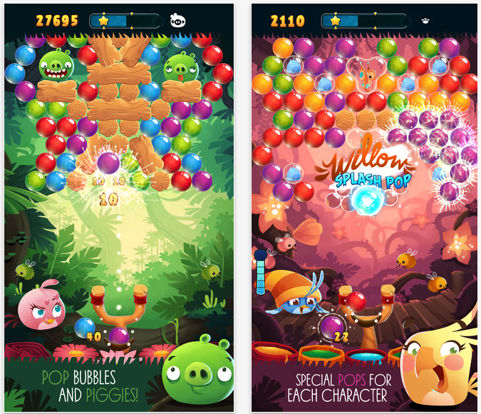 {Android} Angry Birds: Stella pop