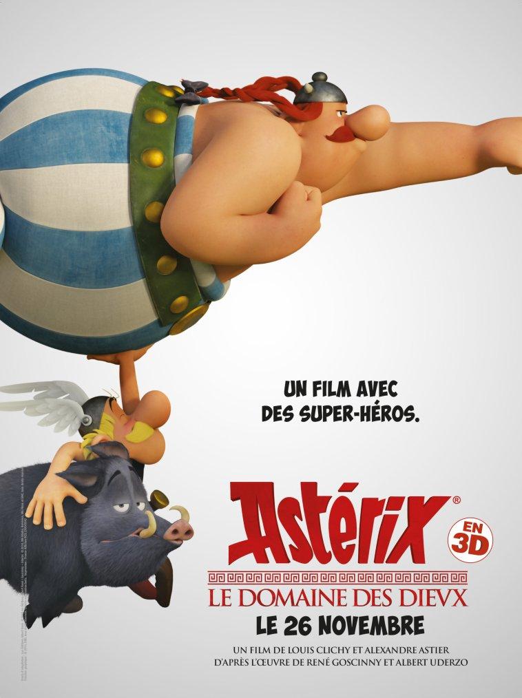 {Cinéma} Astérix: Le domaine des Dieux
