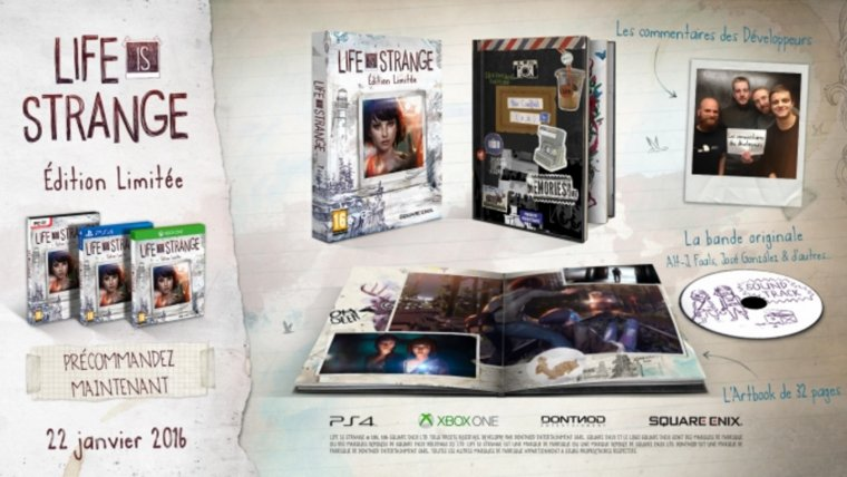 Life is Strange: La version boite arrive