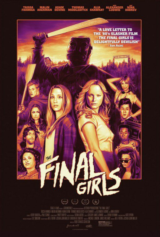 Cinéma / The Final Girls (Scream girl)