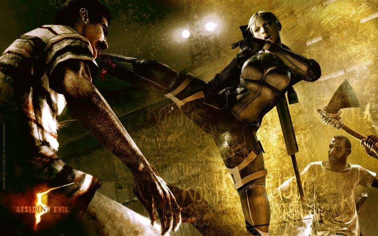 Test / Resident Evil 5: Une fuite désesperée
