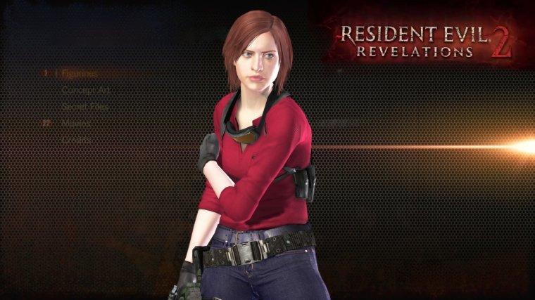 Resident Evil Révélations 2: La garde robe de Claire