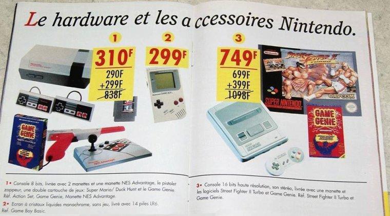 310 francs la NES :)
