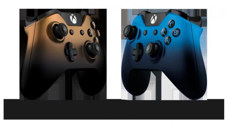 Xbox One dévoille 2 nouvelle manettes