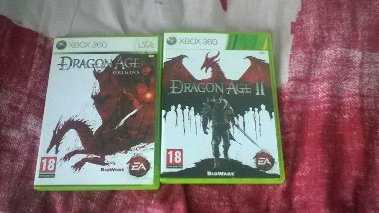 Achats : Dragon age 1 et 2