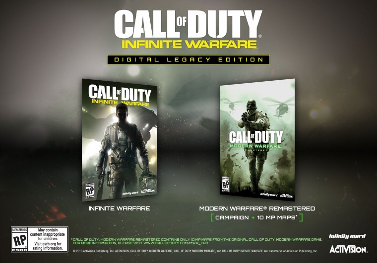 Call of Duty: Modern Warfare: Remastered vs Infinite Warfare