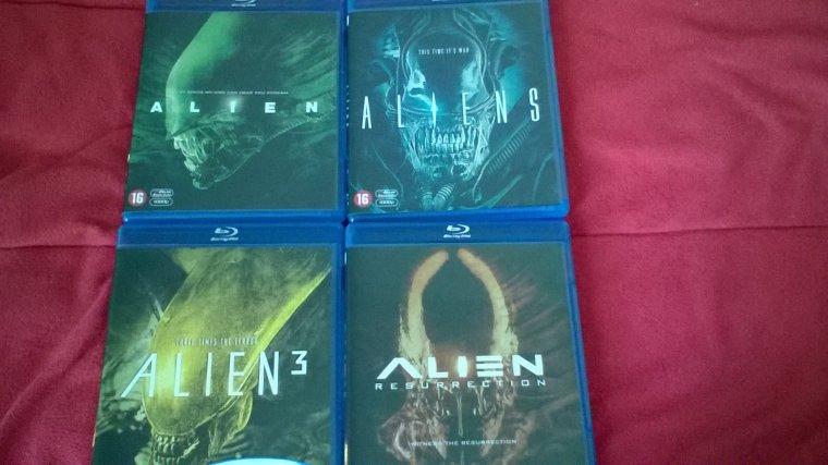 Achats: Alien Anthologie