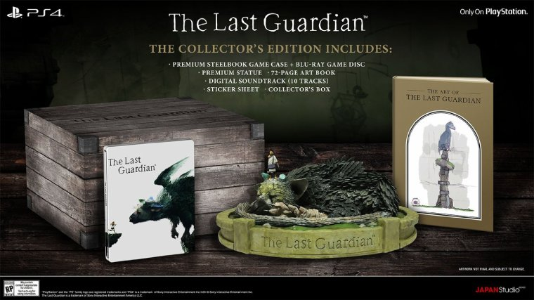 The Last Guardian: Edition Collector