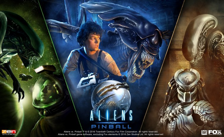 Aliens Pinball