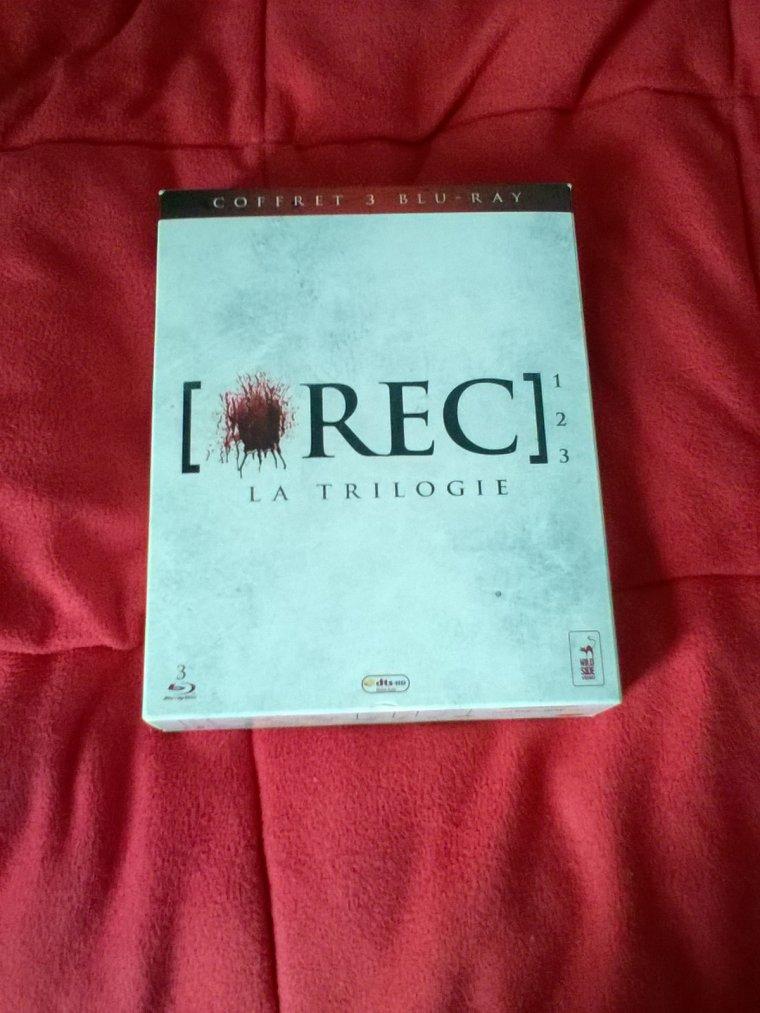 Achat: Coffret [*REC]: la trilogie Blu ray