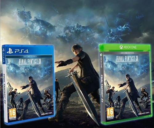 Final Fantasy XV: Jaquette FR Réversible