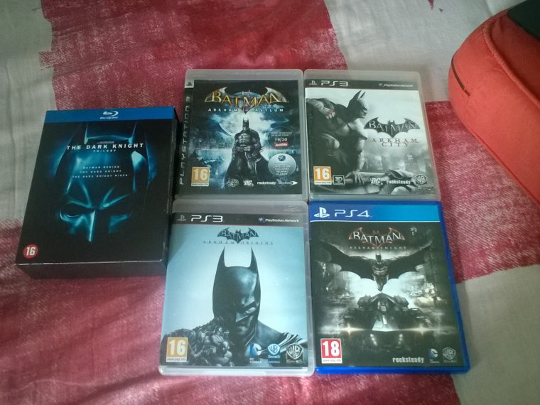 Ma collection Batman (achats septembre 2016)