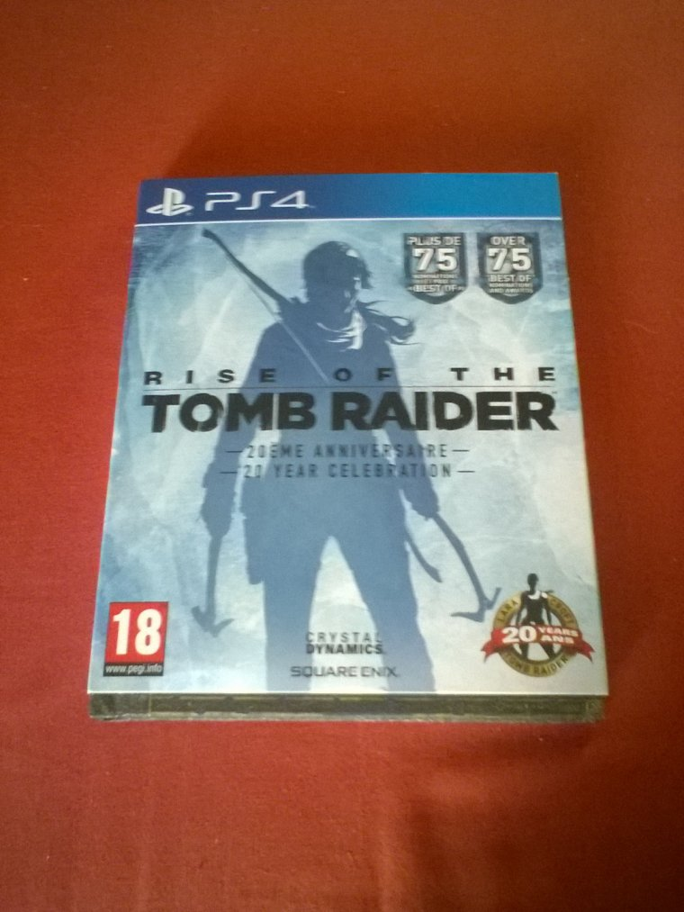 Black Friday / Unboxing: Rise of the Tomb Raider: 20 year célébration PS4