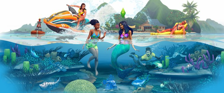 The Sims 4 : Island Living / E3 2019