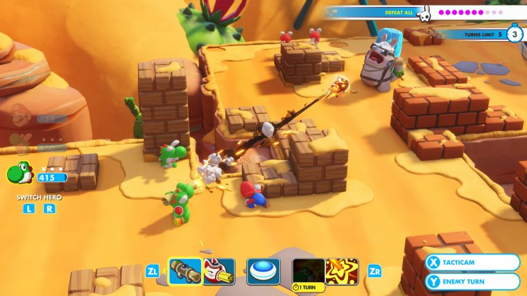 Mario+Rabbids : Kingdom Battle